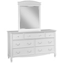 Emma 7 Drawer Dresser, Children's Dressers | Kids | Toddler | ABaby.Com