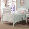 Emma Bed with Tall Headboard, Childrens Twin Beds | Full Beds | ABaby.com