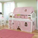 Little Princess Mansfield Junior Loft , Childrens Loft Beds | Girls Loft Bed With Desk | ABaby.com