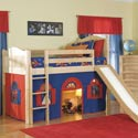 Regan Regal Loft Bed, Toddler Bunk Beds | Kids Loft Beds | ABaby.com