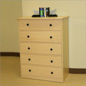 Sierra 5 Drawer Dresser, Children's Dressers | Kids | Toddler | ABaby.Com