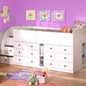 Captains Cove Bed, Captains Beds | Kids Captains Bed | ABaby.com