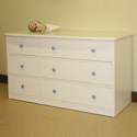 Sierra Double Dresser, Children's Dressers | Kids | Toddler | ABaby.Com
