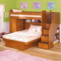 Sierra Space Saver Deluxe, Childrens Loft Beds | Girls Loft Bed With Desk | ABaby.com