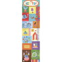 Big Top Growth Chart, Circus Fun Nursery Decor | Circus Fun Wall Decals | ABaby.com