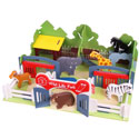 Wildlife Park Play Set, African Safari Themed Nursery | African Safari Bedding | ABaby.com