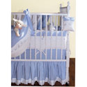 Blue Checker Crib Bedding, Boy Crib Bedding | Baby Crib Bedding For Boys | ABaby.com