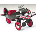 Shark Attack Pedal Plane, Toddler Bikes | Childrens Pedal Cars | ABaby.com