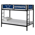 NFL Bunk Bed, Toddler Iron Bunk Beds | Kids Bunk Beds | ABaby.com