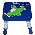 High Flyer Stool, Personalized Kids Step Stools | Step Stools for Toddlers | ABaby.com