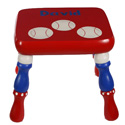 Baseball Stool, Sports Themed Nursery | Boys Sports Bedding | ABaby.com