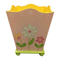 Pretty Garden Waste Basket