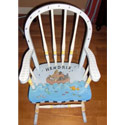 Personalized Noah's Ark Rocking Chair