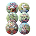 Peter Rabbit Furniture Knobs, Bunnies Nursery Decor | Bunnies Wall Decals | ABaby.com