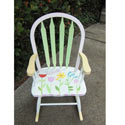 Growing Tulip Rocking Chair, Kids Chairs | Personalized Kids Chairs | Comfy | ABaby.com