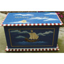 Ship Toy Box, Kids Toy Boxes | Personalized Toy Chest | Bench | ABaby.com