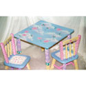 Whimsy Table and Chairs Set, Personalized Table and Chair Sets | Gifts for Toddlers | ABaby.com