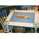 Surfs Up Table and Chair Set, Personalized Table and Chair Sets | Gifts for Toddlers | ABaby.com