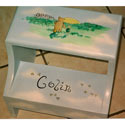 Winnie the Pooh Step Stool, Personalized Kids Step Stools | Step Stools for Toddlers | ABaby.com