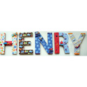 Henry's Transportation Wall Letters, Kids Wall Letters | Custom Wall Letters | Wall Letters For Nursery
