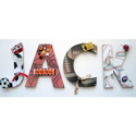 Jack's Sports Wall Letters, Kids Wall Letters | Custom Wall Letters | Wall Letters For Nursery