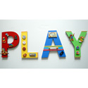 3D Playroom Toys Wall Letters, Customized Wall Letters | Childrens Wall Letters | ABaby.com