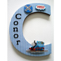 Thomas the Tank Engine 3D Wall Letter, Customized Wall Letters | Childrens Wall Letters | ABaby.com