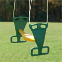 Back To Back Glider, Kids Swing Set Accessories |Outdoor Swing Sets | ABaby.com