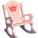 Personalized Princess Rocking Chair, Kids Rocking Chairs | Kids Rocker | Kids Chairs | ABaby.com