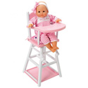 2 in 1 Doll Highchair, Baby Doll House | Accessories | Doll Furnitutre Sets