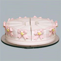 Marcela Pink Bows Favor Cakes, Shower Favors | Baby Shower Gift Ideas | ABaby.com