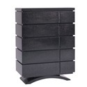 Milano 5 Drawer Dresser, Children's Dressers | Kids | Toddler | ABaby.Com