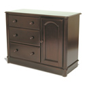 Veneto 3 Drawer Cupboard, Dresser And Changing Table Combo | Nursery Dressers | ABaby.com