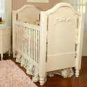 Cape Cod Roses Crib, Custom Cribs | Rustic Cribs | Unique Cribs | ABaby.com