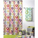 All That Jazz Bath Collection, Kids Shower Curtains | Shower Curtain | ABaby.com