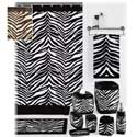 Zebra Bath Collection, Kids Shower Curtains | Shower Curtain | ABaby.com