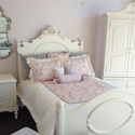 Bella Rosa Twin Bed