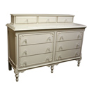 Simply Elegant Dresser with Princess Drawers