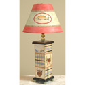 Fishing Lodge Lamp,