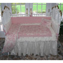 Pink at Play Crib Bedding, Baby Girl Crib Bedding | Girl Crib Bedding Sets | ABaby.com