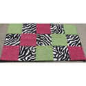 Checkerboard Rug, Novelty Rugs | Cheap Personalized Area Rugs | ABaby.com