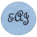 Round Monogram Rug, Novelty Rugs | Cheap Personalized Area Rugs | ABaby.com