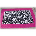 Animal Print Border Rug, Novelty Rugs | Cheap Personalized Area Rugs | ABaby.com