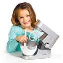 Toy Kenwood Titanium Mixer, Kids Play Kitchen Sets | Childrens Play Kitchens | ABaby.com