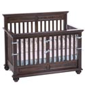 Umbria Convertible Crib, Antique Baby Crib | Cradle | Designer Convertible Cribs | ABaby.com