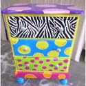 Funky Three Drawer Night Stand, Kids Night Tables | Toddler Night Stand | ABaby.com