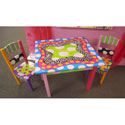 Funky Table and Chairs Set, Kids Table & Chair Sets | Toddler Tables | Desk | Wooden