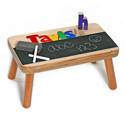 Chalkboard Fun 1 Name Puzzle Stool