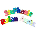 Spell It! Name Puzzle, ABC�s Themed Nursery | Alphabet Bedding | ABaby.com