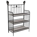 Horse & Star Iron Changing Table, Wild West, Western, Cowboy Themed Furniture, Decor For Childrens Rooms and Baby's Nursery.